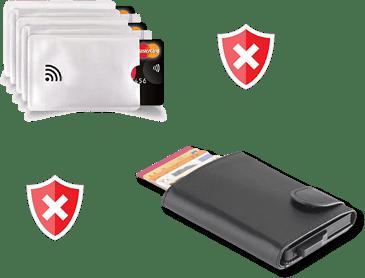 étui de protection carte bancaire
